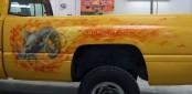 Bilde av Dodge Ram  med True flames