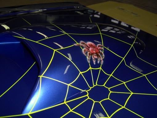 Bilde av edderkoppen er ferdig