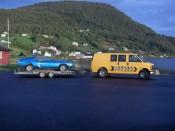Bilde av Van og Mustang